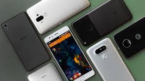 Vários smartphones
