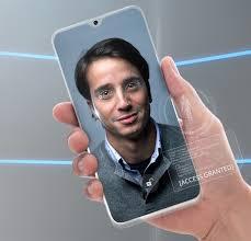 Smartphone com fotos