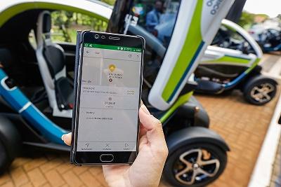 Smartphone itaipu cidades inteligentes