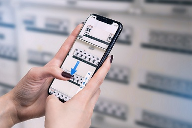 Smartphone com realidade aumentada