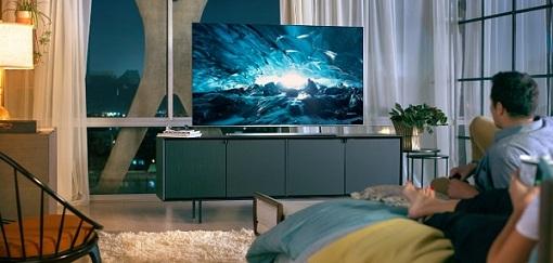 Distância da TV Samsung QLED TV
