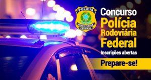 Banner do concurso da Polícia Rodoviária