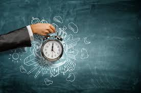 Relógio mostrando o tempo