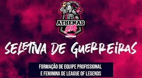Seletivas Athena's e-Sports