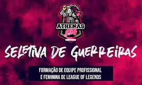 Seletivas Athena's e-Sports