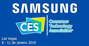 Banner Samsung na CES