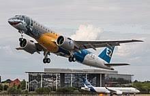 Avião E190 Embraer