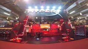 Estande HyperX na CES
