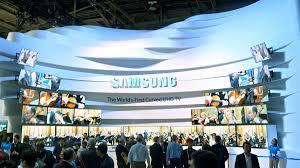Estande Samsung na CES