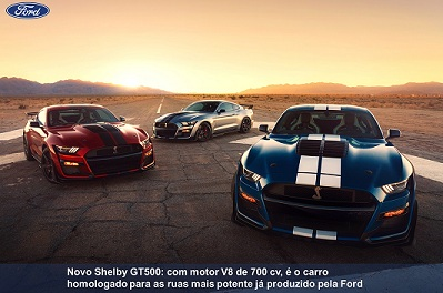 Linha Ford Shelby GT500