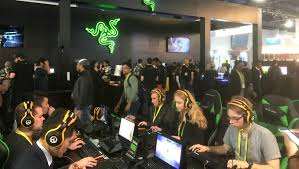 Gamers na CES