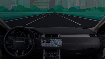 Veículo com tecnologia HERE na CES