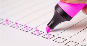 Checagem em sistema de assessment