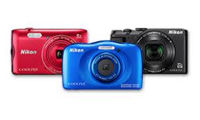 câmera fotográfica Nicon várias cores