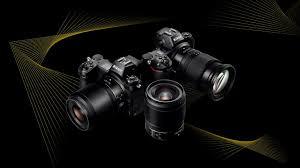 câmera fotográfica com acessórios