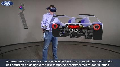 ferramenta 3D da Ford