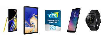 linha Samsung na CES