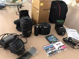 mochila com acessórios para fotografia