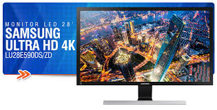 monitor UHD 4K de 28