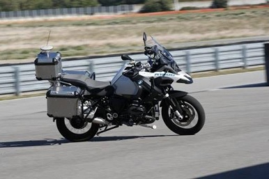 Moto autônoma BMW na CES