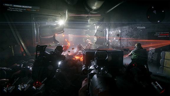 Cena do game GTFO Screenshot