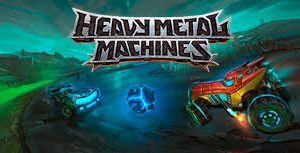 Banner do game Hevy metal machines