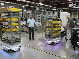 robô colaborativo MiR