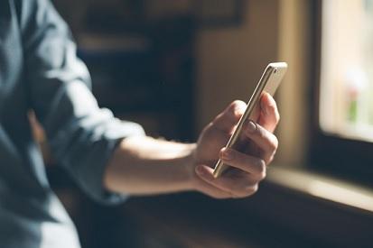 Smartphone com ProVa da ClickVision