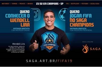 Wendell Lira no FIFA 19 Campinas