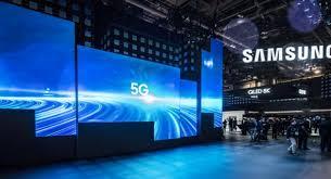 Estande  Samsung 5G no MWC19
