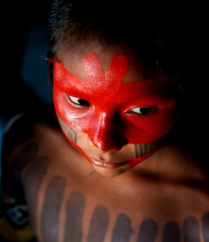 Índio festival fotografia