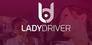 Banner Lady Driver