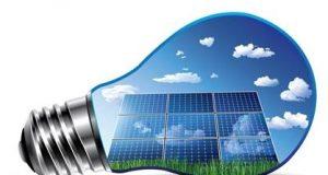 Lâmpada e energia fotovoltaica