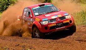 Veículo Mitsubishi rally