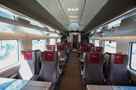 Trem interior