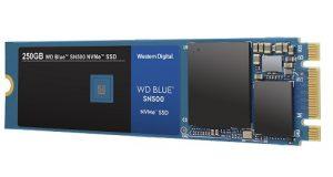 O SSD - WD Blue SN500 NVMe