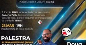 Convite da escola ZION