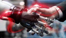 Mão robótica Hannover Messe