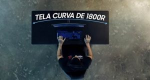 monitor Samsung tela curva