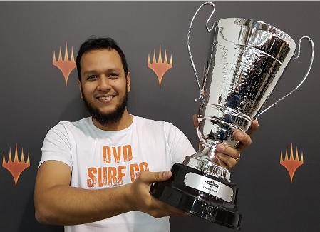 Brasileiro ganhador do Magic Fest