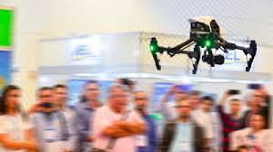 Drone voando DroneShow