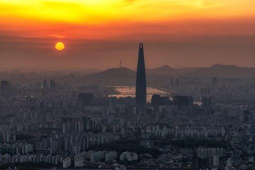 Ar poluído de Seul