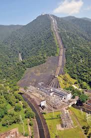 Usina hidrelétrica Hery Bordem construída pelo Eng. Billings início século 20