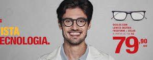Jovem de óculos campanha Vista Diniz