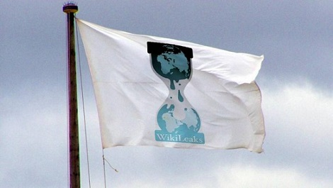 Bandeira WikiLeaks