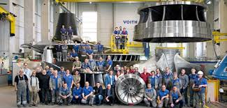 Turbina Voith expertise em hidrelétrica