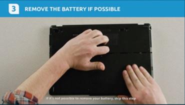 Remover bateria