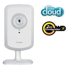 câmera Dlink cloud segurança residencial