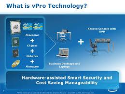O que é Intel® vPro™