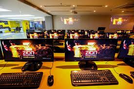 Sala de aula de games da Zion